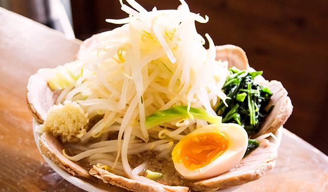 チャーシュー麺(麺・野菜増し)